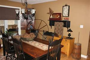 Primitive, Colonial, Country, Decorating