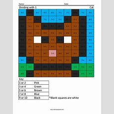 3rd Grade Math  Coloring Squared