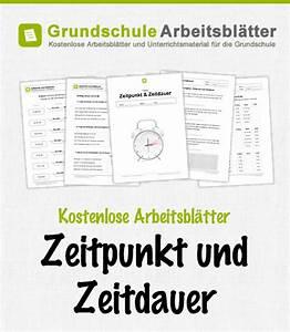 Zeitspanne Berechnen : zeitpunkt und zeitdauer kostenlose arbeitsbl tter ~ Themetempest.com Abrechnung