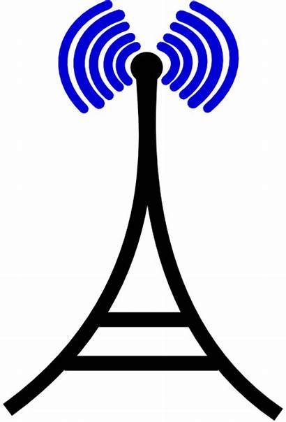 Tower Broadcasting Clker Clip Clipart Cliparts Domain