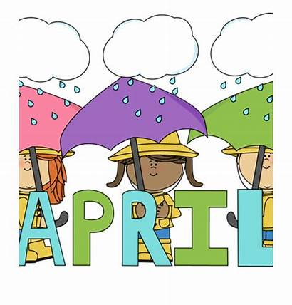 April Birthday Month Clipart Clip Butterfly Showers