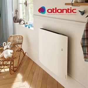 Radiateur Electrique Connecté : radiateur lectrique atlantic divali horizontal pilotage ~ Dallasstarsshop.com Idées de Décoration