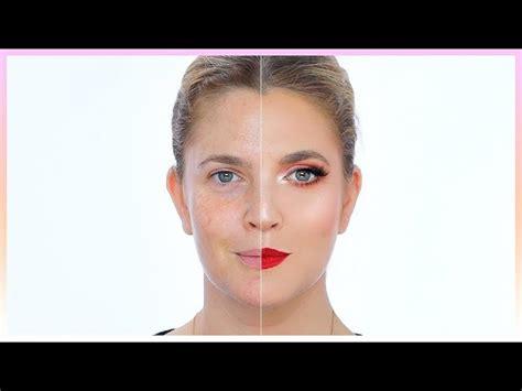 power  makeup drew barrymore nikkietutorials