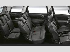 Dimensioni Fiat 500L Wagon 2017, bagagliaio e interni
