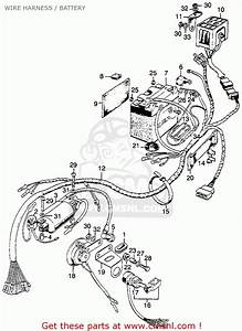 Honda Sl125 Motosport 125 K0 1971 Usa Wire Harness