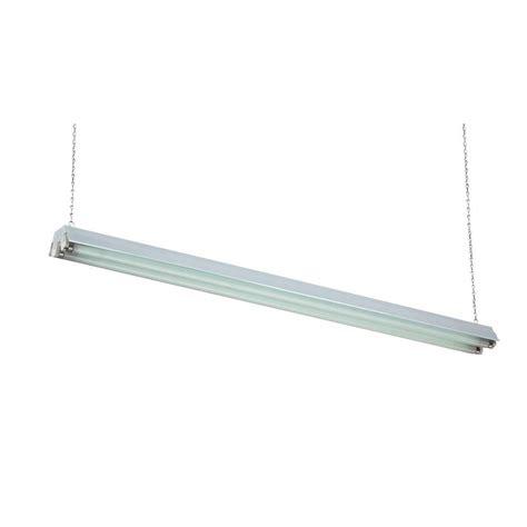 hanging fluorescent light fixtures basic 48 quot fluorescent l hanging shop light fixture