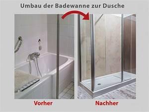 Wanne Zur Dusche : wanne zur dusche in nur 8 stunden badbarrierefrei leipzig ~ Watch28wear.com Haus und Dekorationen
