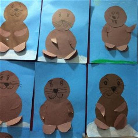 seal craft idea for crafts and worksheets for 673 | circle seal craft 300x300