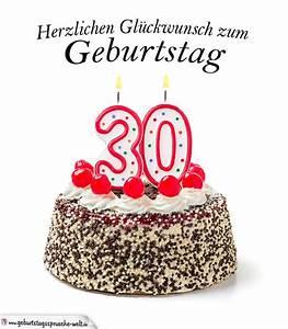 30 Dinge Zum 30 Geburtstag : herzlichen gl ckwunsch zum 30 geburtstag geburtstagskarte ~ Bigdaddyawards.com Haus und Dekorationen