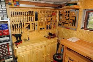Werkzeugwand Selber Bauen : michas holzblog die werkstatt nach dem umbau ein berblick ~ Watch28wear.com Haus und Dekorationen