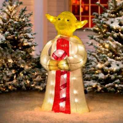 star wars christmas lawn decorations collection  ebay