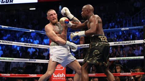 mayweather  mcgregor results full card winners