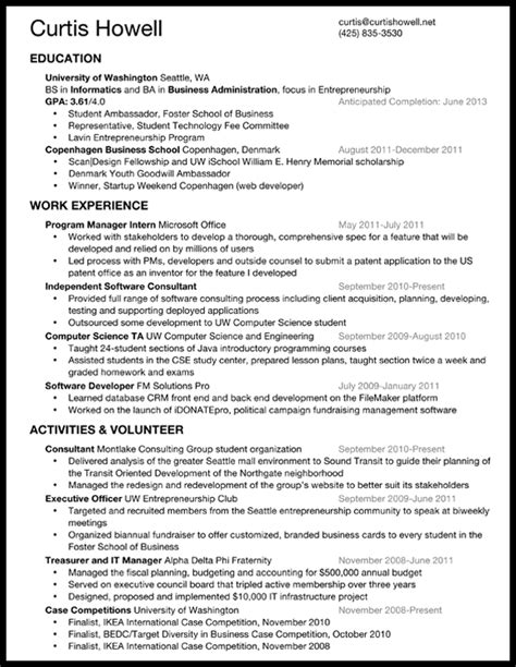 what should my resume look like the best resume