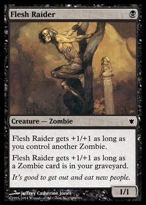 card mtg magic zombies creation decision salvation contact game