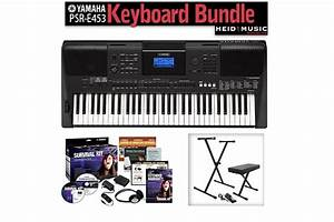 Yamaha PSR-E453 Keyboard Bundle | Heid Music