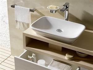 Plan De Toilette Bois : plan de toilette bois pas cher ~ Teatrodelosmanantiales.com Idées de Décoration