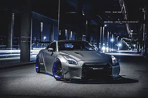 2013 Nissan GT-R by Liberty Walk - front photo, Vancouver