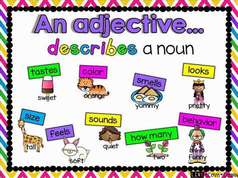 adjectives ms masons  grade raymore elementary