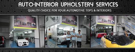 Auto Upholstery Services by Auto Interior Upholstery Services Sgcarmart