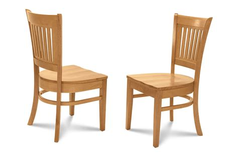 midu kitchen dining room side chair  plain wood seat