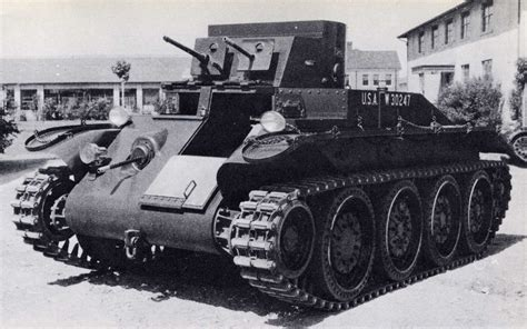 Medium Tank T4 Combat Car (convertible M1 Medium Tank