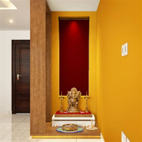 trendy color ideas for pooja room in indian homes designwud