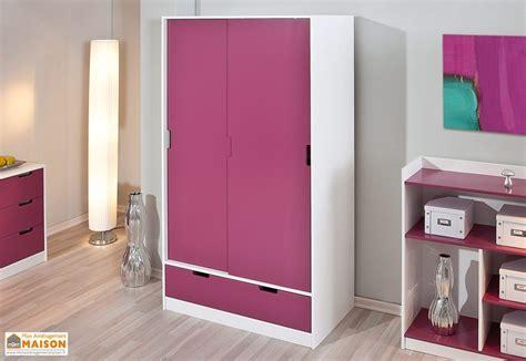 armoire chambre d enfant chambre d enfant kidz magenta lit armoire commode