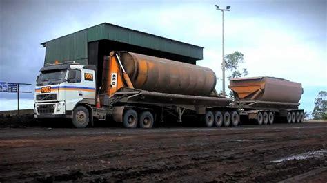 volvo trucks heavy hauling  indonesia youtube