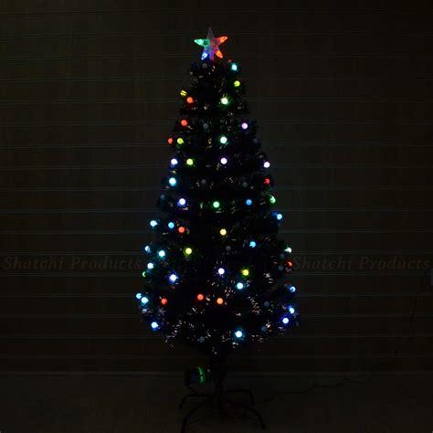 2ft 3ft 4ft 5ft 6ft fibre optic led christmas tree pre