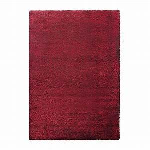Tapis Shaggy Rouge : tapis shaggy rouge esprit home cosy glamour 240x340 ~ Teatrodelosmanantiales.com Idées de Décoration