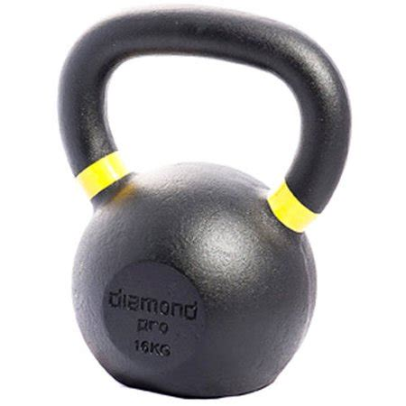 yellow kettle bell 16kg lb diamond dialog displays additional option button