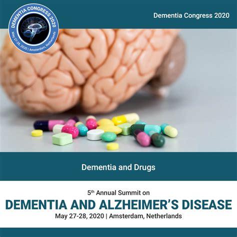 Dementia And Drugs Dementia Congress 2020 Global