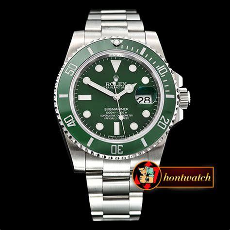 Rolex Submariner 116610LV 904L SS/SS Green DJF Asia 3135 ...