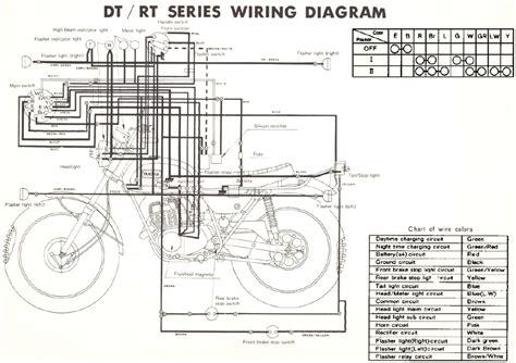 Yamaha Enduro Motorcycle Wiring Schematics