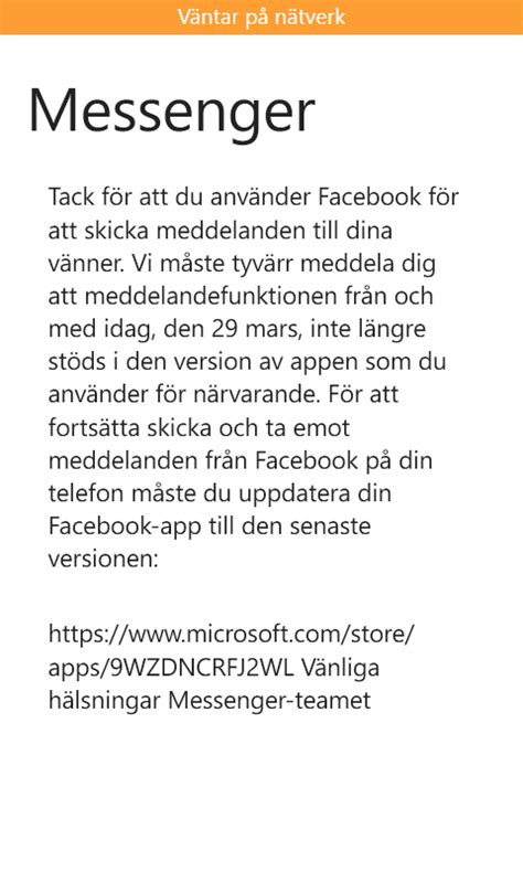 messenger on lumia 640 microsoft community