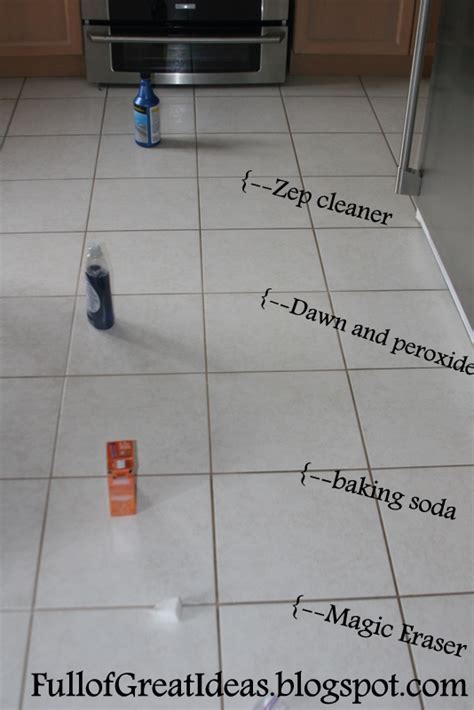 The absolute best way to clean grout   4 methods tested, 1