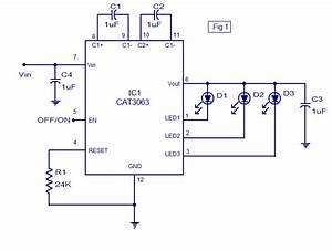 3 Channel Led Driver Using Cat3063