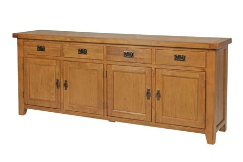 Large Oak Sideboard Uk by Large Country Oak Sideboard 200cm Free Delivery Top