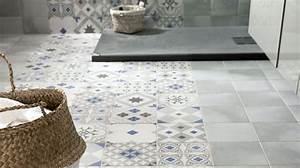 Revetement De Sol Adhesif : rev tement salle de bains carrelage parquet peinture ~ Premium-room.com Idées de Décoration