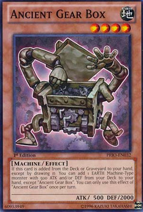 Yugioh Ancient Gear Deck Recipe by Pojo S Yu Gi Oh Card Of The Day
