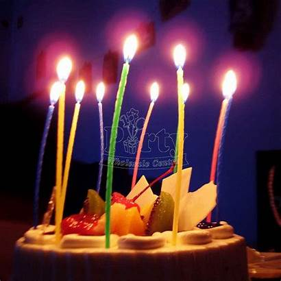 Birthday Korean Celebration Candle Slim Party Supplies