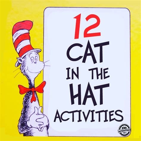 12 dr seuss cat in the hat crafts and activities for 871 | cat in the hat1