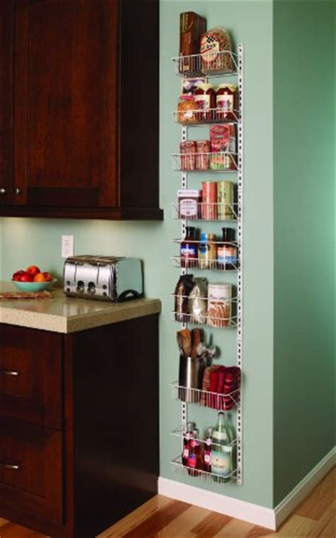 Closetmaid Door Storage Rack - closetmaid 1231 adjustable 8 tier wall and door rack 12