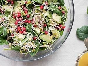 Salat Selber Anbauen : salat mit avocado spinat und granatapfelkernen selber machen ~ Markanthonyermac.com Haus und Dekorationen