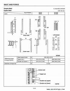 Caterpillar M70d M80d M100d M120d Forklifts Pdf Manual