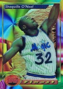 top shaquille oneal basketball cards rookies autographs