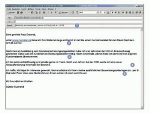 Anschreiben Rechnung Per E Mail : online bewerbung anschreiben per e mail ellviva ~ Themetempest.com Abrechnung