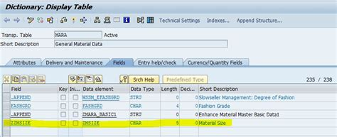 mara table in sap enhancing material master sap blogs