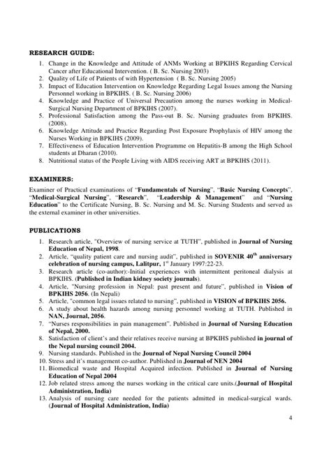 bsc nursing fresher resume resume ideas