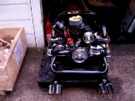 cc vw volkswagen beetle rail trike buggy chrome engine